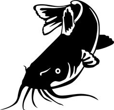The Catfish Feeding Freshwater Fish wall decal will look great in that man cave, cabin, garage or any room in your home decorated with an outdoor theme. Catfish Tattoo, Buck Tattoo, Bass Fishing Shirts, Leather Tooling Patterns, Free Adult Coloring Pages, Fish Drawings, Steel Art, Scroll Saw Patterns, Flash Art