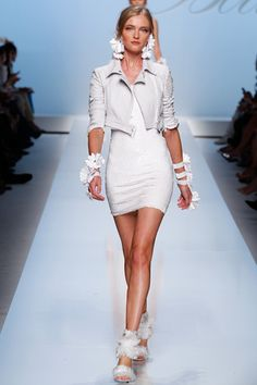 Blumarine Maybe not the shoes, but love the jacket!