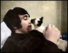 Lennon & siamese kitty