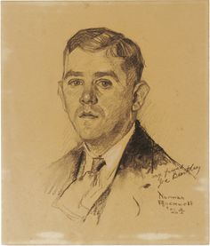 Norman Rockwell, who was a friend to Joe Bentley, my uncle.