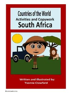 This booklet focuses on the country of South Africa.  Your students will learn facts about South Africa while practicing their manuscript and cursi...