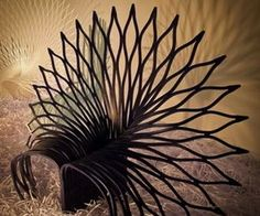 peacock chair. Behance.