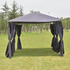Outdoor 10 X 13 Gazebo Canopy Tent Shelter Gazebo Canopy