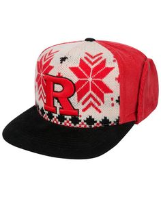 best service 54c17 ebce3 Top of the World Rutgers Scarlet Knights Christmas Sweater Strapback Cap    Reviews - Sports Fan Shop By Lids - Men - Macy s
