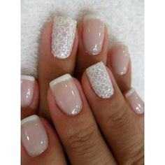 Pinterest / Search results for wedding nails via Polyvore