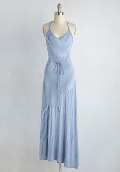 Connecticut Temperament Maxi Dress, @ModCloth