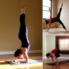 Intense Core Poses! And slightly easier variations to help you get there =)