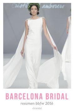 a945a427b Barcelona Bridal Fashion Week mostró las principales tendencias para el  2017. Nosotros estuvimos muy atentos