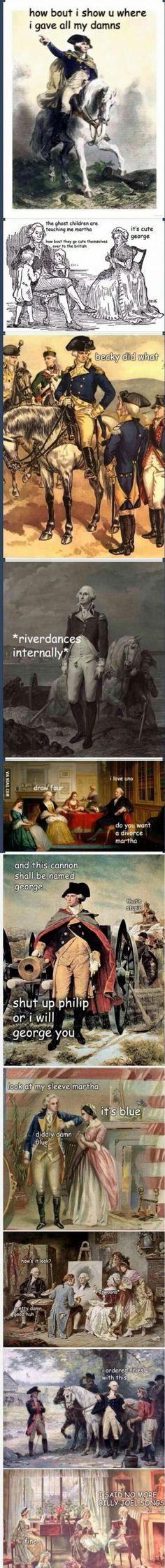 Sassy George Washington