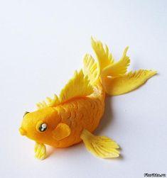 рыба из полимерной глины фото
