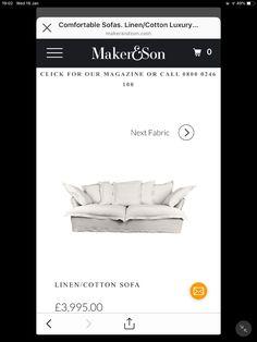 Comfortable Sofa, Yard, Luxury, Fabric, Cotton, Comfortable Couch, Tejido, Cozy Sofa, Comfy Sofa
