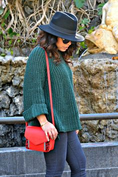 outfit-maglione-verde-oasap-fashion-blogger-outfit-invernale