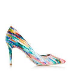 0e78481dd8a23e AURRORA - Mid Heel Court Shoe Colorful Heels