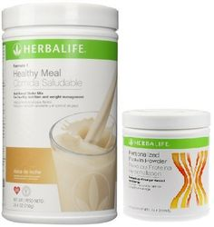 Herbalife Formula 1 Shake Mix-Dulce de Leche (750g)   Formula 2 Personalized Protein Powder (PPP)-360g Unflavoured. > More infor at the link of image  : Weight loss Shakes and Powders