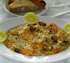 Greek Recipes, Fried Rice, Seafood, Fries, Recipies, Spaghetti, Cooking, Ethnic Recipes, Recipes