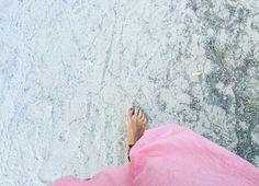A piedi nudi per sentirsi