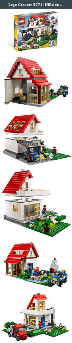 Lego Creator 5771: Hillside House. Target Gender: unisex Age: up to 12 years of age from 8 years old The main production Country: Denmark LEGO and the LEGO logo are trademarks of the LEGO Group. (C) 2011 The LEGO Group. Safety standards: ST mark > More.