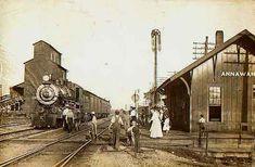 Annawan Il. Rock Island depot. My hometown.
