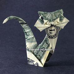 angel dollar origami money dollar origami pinterest
