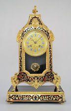 Cartel Napoléon III technique Boulle et bronze doré uhren clock pendule empire