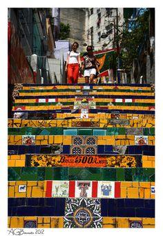 More Steps, Rio de Janeiro, Brazil  Copyright: Andre Bonavita