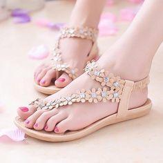 2ed690875563d6 Cuculus Sandals Summer Style Bling Bowtie Fashion Peep Toe Jelly Shoes  Sandal Flat Shoes