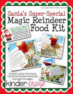 Santa's Super Special Magic Reindeer Food Kit, only $1