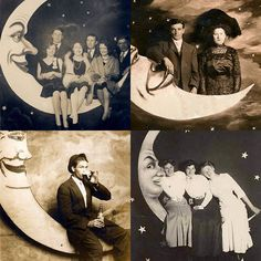 paper moon,stars and clouds = divine photo backdrop