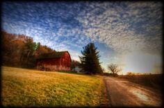 Country Barn near Lake Mills Wisconsin