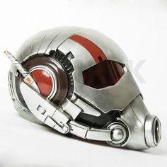 2015 Movie Ant-Man Helmet PVC Antman Cosplay Full Head Mask Halloween for Adult