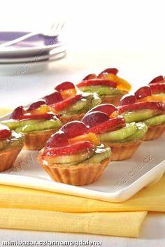 Minidezert ovocný košíček
