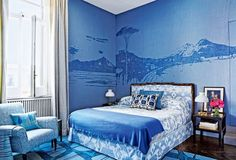 Pastel perfection: 14 rooms show how to use the Pantone colours for 2016 - Vogue…