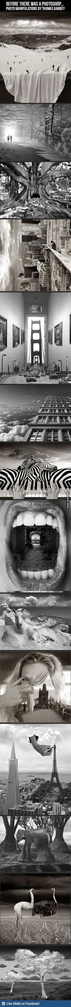 photo manipulations by thomas barbey. If only these things still took this kind of skill.