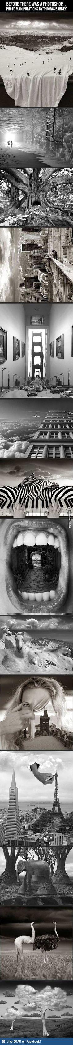 photo manipulations by thomas barbey