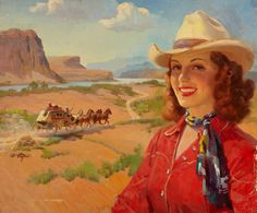Frederick Kimball Mizen [The Cowgirl and the Stagecoach - 1930]
