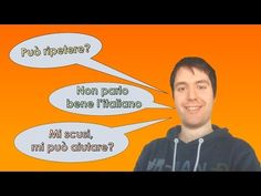 Conversation de base - Phrases utiles en Italie - YouTube