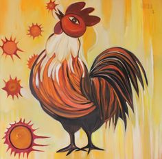 Mi gallo amarillo