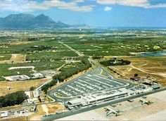 D F Malan airport Cape Town Etienne du Plessis Antique Maps, Cape Town, Old Photos, South Africa, City Photo, Earth, History, Places, Photography