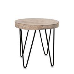 Klion White Pepper Side Table by Citta Design   Citta Design Australia