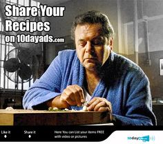 Share your #Recipes on 10dayads.com