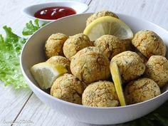 Boulettes végétariennes au citron pois chiches persil fêta