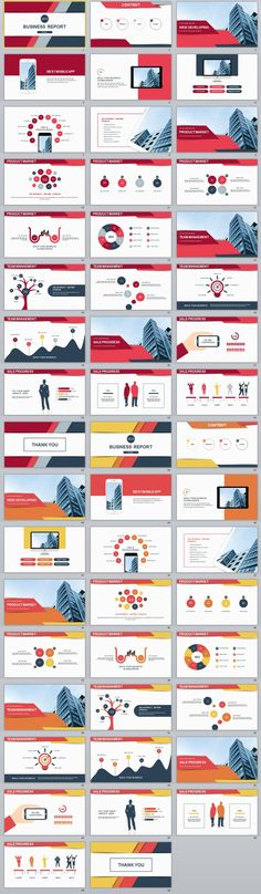 24+ Best gray Creative Business PowerPoint template powerpoint - business report templates