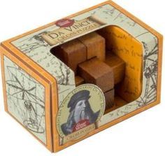 DaVinci's Cross Puzzle (Ages 7+)