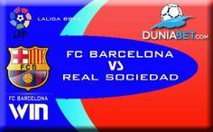 SBOBET Indonesia Prediksi Pertandingan : Barcelona vs Real Sociedad