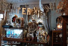 Wendy Addison's Theater of Dreams ~  A fairy tale of a studio full to the brim of beautiful inspiration!