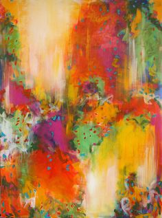 Luscious. 30 x 40. Acrylic on Canvas. by csoccio, via Flickr