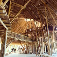 15.11.2015  Bamboo could become this wonderfully amazing  beautiful structure! The kids are very lucky to have this building as their school.  The heart of Green School #Bali #Indonesia .  #trip #travel #traveltreasures #igtraveler #Asia #instamood #travelgram #mytravelgram #vsco #wanderlust #traveling #TFLers #worldplaces #instatravel #instapassport #happyfeet #travelphotography #vernacular #building #interior #sustainable #architecture #bamboo #archidaily #architectureporn #gogreen…