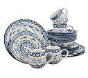 Temp-tations Old World 16-piece Dinnerware Service for 4