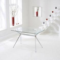 Parini Extendable Dining Table Rectangular In Grey Gloss
