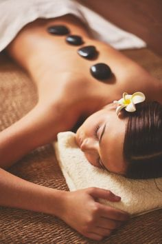 "See 20 photos and 4 tips from 116 visitors to Body Massage Wellness Spa. ""I got a massage and a pedicure. Stone Massage, Spa Massage, Massage Room, Cadeau Bio, Mascara Hacks, Massage Relaxant, Massage Therapy Rooms, Spa Accessories, Wellness Spa"